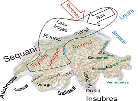 Kelten in der Schweiz